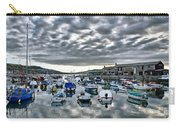 Cloudy Morning - Lyme Regis Harbour Carry-all Pouch