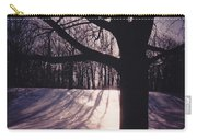 Clove Lakes Park In Winter Carry-all Pouch