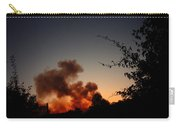 Clover Fire At Night Carry-all Pouch
