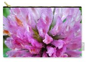 Clover Flower Upclose Carry-all Pouch