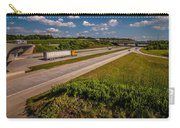Clover Leaf Exit Ramps On Highway Near City Carry-all Pouch