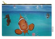 Clown Fish And Friends Carry-all Pouch