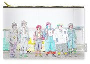 Clown Lineup Carry-all Pouch
