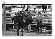 Clown Watches Bronc Bw Carry-all Pouch
