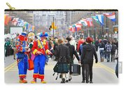 Clowns And Tartans Carry-all Pouch