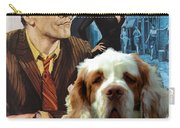 Clumber Spaniel Art - Irma La Douce Movie Poster Carry-all Pouch