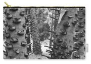 Cluster- Black And White Carry-all Pouch