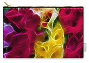 Cluster Of Gladiolas Triptych  Carry-all Pouch