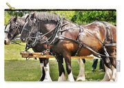 Clydesdale Horses Carry-all Pouch