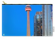 Cn Tower By Night Carry-all Pouch