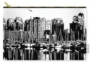 Vancouver Canada Coal Harbour Centre Panel Carry-all Pouch