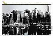 Vancouver  Canada Coal Harbour Triptych Left Panel Carry-all Pouch