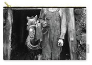 Coal Miner & Mule 1940 Carry-all Pouch