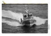 Coast Guard In Black And White Carry-all Pouch
