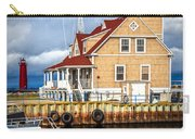 Coast Guard Station On Muskegon Lake Carry-all Pouch