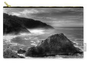 Coast Of Dreams 7 Bw Carry-all Pouch