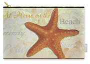 Coastal Decorative Starfish Painting Decorative Art By Megan Duncanson Carry-all Pouch