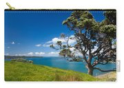 Coastal Farmland Landscape With Pohutukawa Tree Carry-all Pouch
