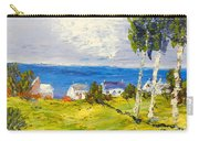 Coastal Fishing Village Carry-all Pouch