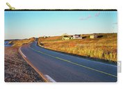 Coastal Highway At Sunset, Nova Scotia Carry-all Pouch