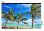 Coastal Palm Trees Carry-all Pouch