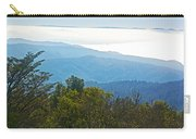 Coastal Range And Clouds From West Point Inn On Mount Tamalpias-california Carry-all Pouch