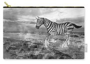 Coastal Stripes II Carry-all Pouch by Betsy Knapp