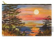 Coastal Sunset Carry-all Pouch
