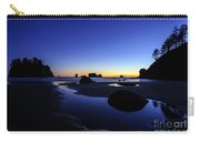 Coastal Sunset Skies Reflection Carry-all Pouch