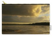 Coastal Winters Afternoon 2 Carry-all Pouch by Amy-Elizabeth Toomey
