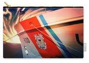 Coast Guard Uscg Alert Wmec-630 Carry-all Pouch by Aaron Berg