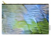 Coastline Mosaic Abstract Art Carry-all Pouch by Christina Rollo