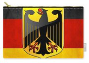 Coat Of Arms And Flag Of Germany Carry-all Pouch