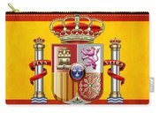 Coat Of Arms And Flag Of Spain Carry-all Pouch