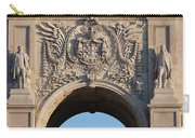 Coat Of Arms Of Portugal On Rua Augusta Arch In Lisbon Carry-all Pouch