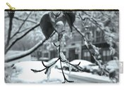 Coat Of Ice - Winter In New York Carry-all Pouch