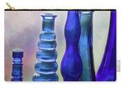 Cobalt Blue Bottles Carry-all Pouch