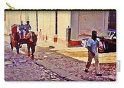 Cobble Stone Streets Of Cuba Carry-all Pouch