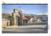 Cobblestone Street In Coporaque Carry-all Pouch