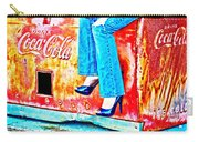 Coca-cola And Stiletto Heels Carry-all Pouch