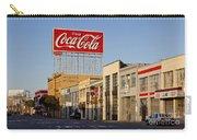 Coca Cola Billboard - San Francisco, California Usa Carry-all Pouch