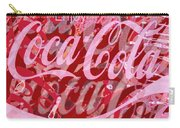 Coca-cola Collage Carry-all Pouch by Tony Rubino