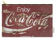 Coca Cola Faded Sign Carry-all Pouch