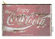 Coca Cola Pastel Grunge Sign Carry-all Pouch