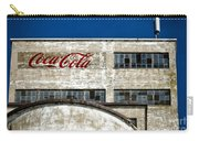 Coca Cola Sign On Old Factory Carry-all Pouch