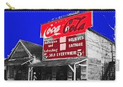 Coca-cola  Sign Palace Cafe Sumter South Carolina 1912-2013   Carry-all Pouch