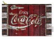 Coca Cola Sign With Little Cokes Border Carry-all Pouch