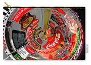 Coca Cola Signs In The Round Posterized Carry-all Pouch