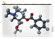 Cocaine Molecular Model Carry-all Pouch