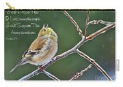 Cock-a-doodle Doo Gold Finch-with Verse Carry-all Pouch